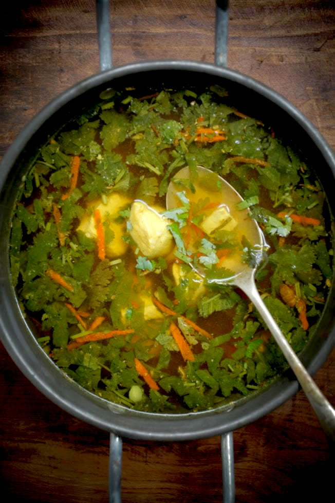 Immune Boosting Chicken Soup