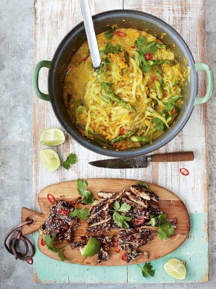Jamie Oliver's Chicken Laksa